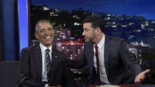 Obama to Kimmel: I Laugh at Trump 'Most of the Time,' But…
