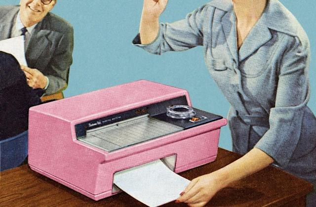An electropop band used fax machines to promote its new album