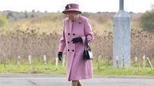 Incansable: la reina Isabel desafía al coronavirus y recorre un laboratorio militar con el príncipe William