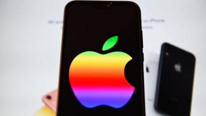 Plant Apple das Comeback für sein Regenbogen-Logo?