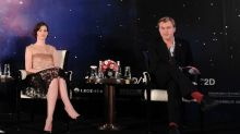 Twitter has a field day after Anne Hathaway reveals Christopher Nolan 'doesn't allow chairs'