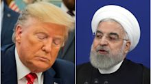 Iran's president says US will duck war because of Donald Trump's re-election bid