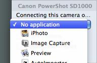 Mac 101: Camera-specific application launching