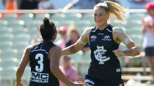Tayla Harris' final blow for trolls as Carlton advance