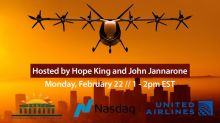 "Nasdaq and PBHFA Host ""Air Mobility – Investing in the Flight of the Future"" Featuring Archer, United Airlines on Feb. 22"