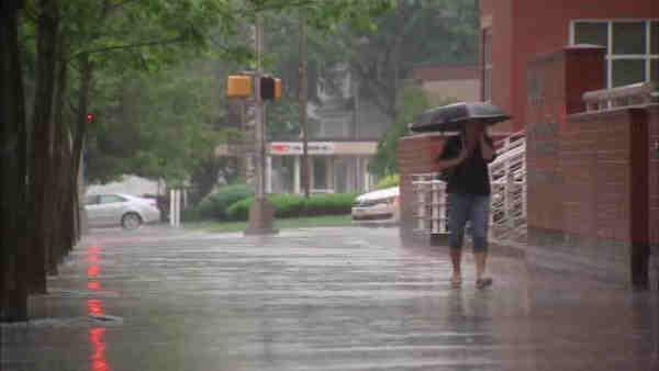 Central Jersey prepared for heavy rains