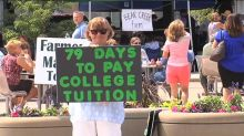 Mom turns to crowdfunding to pay daughter's college tuition