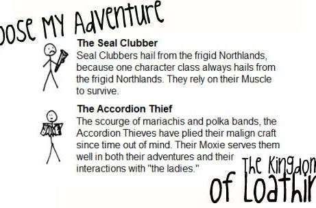 Choose My Adventure: You're nobody till somebody loathes you