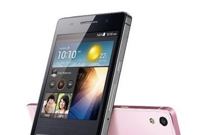 Huawei tweaks Ascend P6 chipset, tacks on an 'S' for good measure