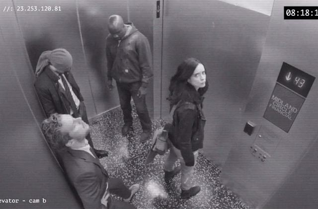 Netflix reveals 'The Defenders' arrival in security footage
