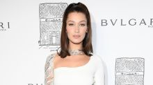 Bella Hadid Steps Out in Ultra Glam, Sexy White Dress in New York City