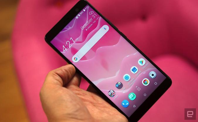 HTC's U11+ is a more elegant reimagining of its predecessor