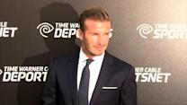 David Beckham Becomes Soccer Ambassador in China