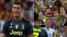Young fan's brutal gesture after Ronaldo left in tears