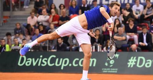 Coupe Davis - Coupe Davis : Evans domine Benneteau dans une ambiance d'exhibition