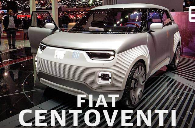Fiat's Centoventi is a customizable EV for the masses