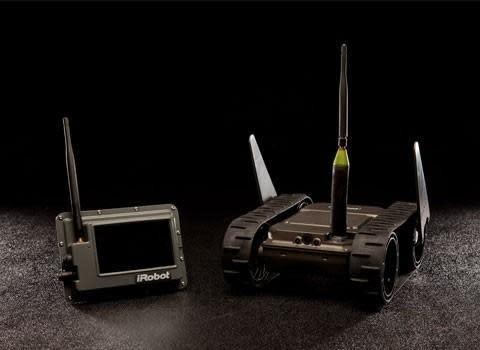 iRobot debuts 'throwable' 110 FirstLook robot