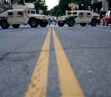 Military personnel, equipment seen in DC after Trump promised to 'dominate the streets'
