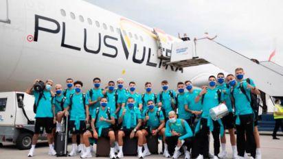 Delegação da Seleção olímpica viaja para Tóquio; Malcom se juntará ao grupo na cidade-sede da Olimpíada