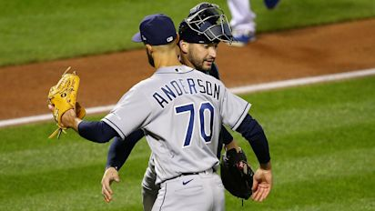Athletics clinch first AL West title since 2013, Rays close in