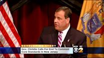Christie Comes Out Swinging Against Common Core
