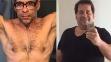 Leandro Hassum posta antes e depois e faz desabafo após emagrecer: 'julgado sempre seremos'
