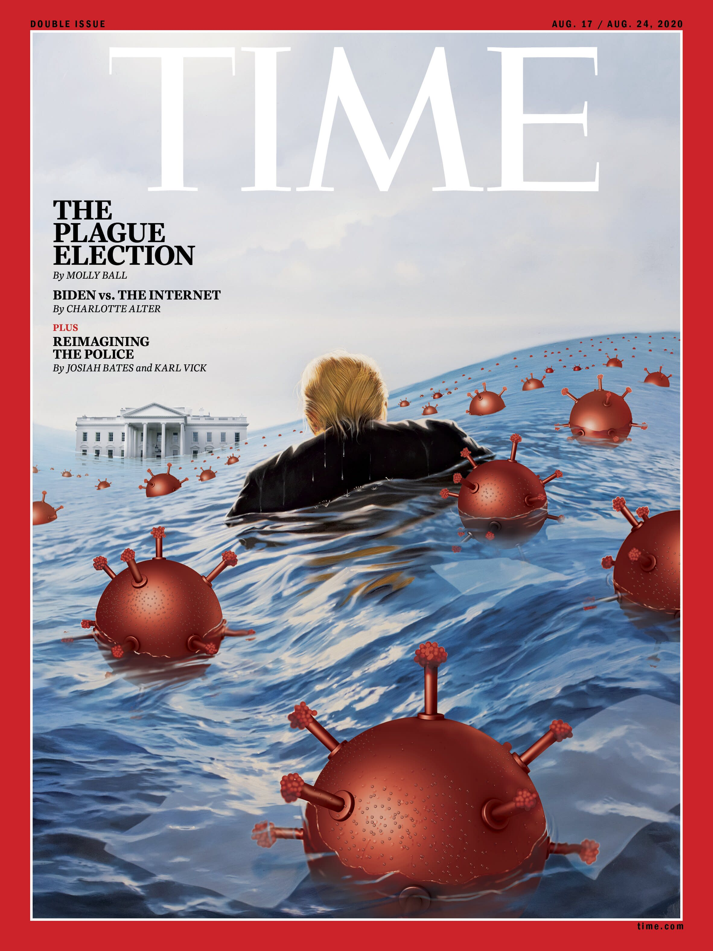 The Story Behind TIME's 'Plague Election' Donald Trump Cover