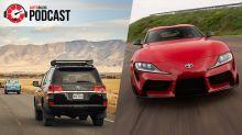 2020 Toyota Supra and Toyota Land Cruisers   Autoblog Podcast #603