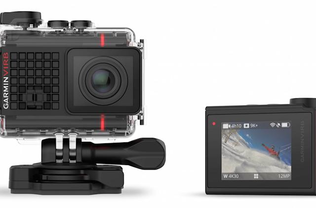 Garmin debuts action camera with voice control and 4K video