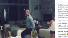 Chris Hemsworth se lo pasa en grande con sus hijos al ritmo de 'Wrecking Ball'