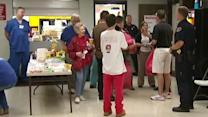 Oklahoma community members come together at shelter