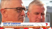 News Feed: Malcolm Turnbull is the highest paid leader in the west
