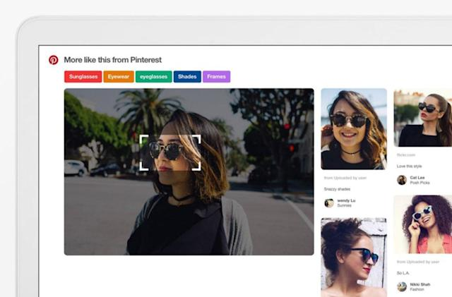 Pinterest fixes its broken visual search tool for Chrome