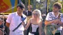 Catching up with Paramore live on 'GMA'