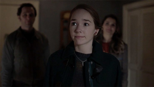 Matthew Rhys as Philip Jennings, Holly Taylor as Paige Jennings and Keri Russell as Elizabeth Jennings in FX's The Americans. (Screengrab: FX)