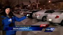 Snow emergency in effect for Milwaukee