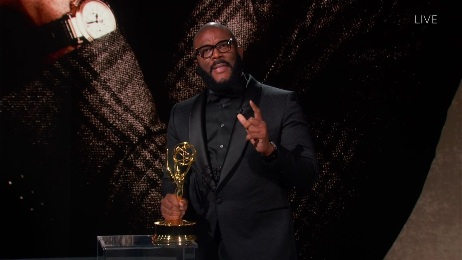 Oprah Winfrey and Chris Rock Honor Governors Award Winner Tyler Perry at  2020 Emmys