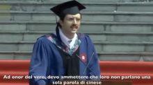 Carlo, lo studente italiano che fa impazzire la Cina