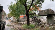 Raggi: continua demolizione Tangenziale Est, lavori vanno avanti