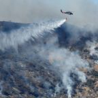 Winds fuel California wildfire, state's third-largest on record