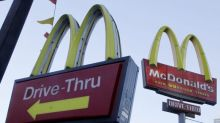 2 men arrested for allegedly going through McDonald's drive-thru on couch