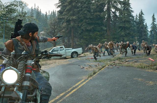 'Days Gone' headlines April's batch of free PlayStation Plus games