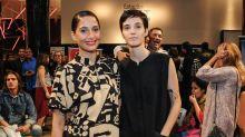 Camila Pitanga posa com a namorada, Beatriz, no Rio de Janeiro