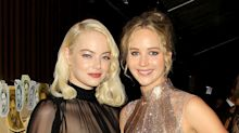 Emma Stone And Jennifer Lawrence Are The Most Fashionable Friends