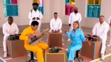 Ariana Grande re-creates her new single using Nintendo Labo