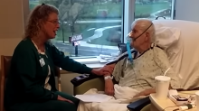 A nurse has been singing to patients for 14 years and finally got caught in this viral video