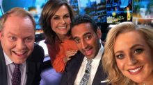 The Project host Peter Helliar's big news
