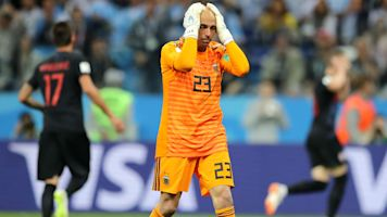 Caballero reveals death threats after mistake for Argentina vs Croatia at 2018 World Cup