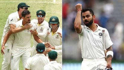 'We're still ahead': Aussies defiant in spite of Kohli