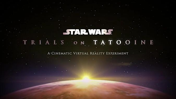 A 'Star Wars' VR experiment is coming soon to HTC Vive